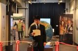 GCOE展示「アイヌと境界」オープニングセレモニー