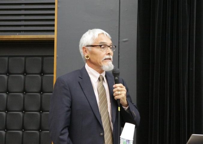ジョー・ワトキンス(オクラホマ大学ネイティブアメリカンスタディーズ・プログラム長)