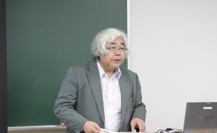佐々木 利和 特任教授 「アイヌを描いた絵から分かること」