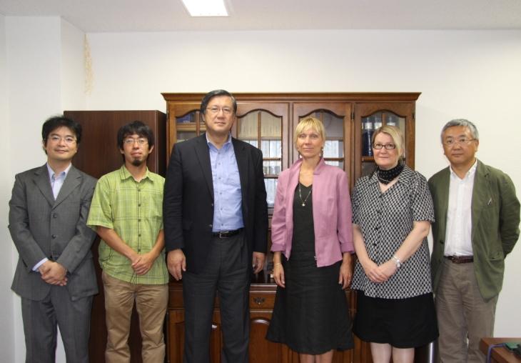 ラップランド大学 Paivi Soppela氏、Paula Kankaanpaa氏、当センター表敬訪問
