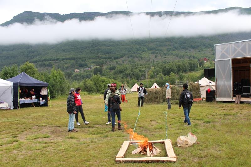 Riddu Riddu Festival2013において行われたアイヌ民族の儀礼、芸能等の調査と実践