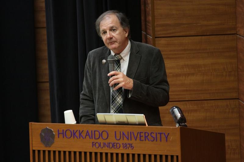 ジョージ・ニコラス(サイモン・フレイザー大学教授、IPinCH代表)