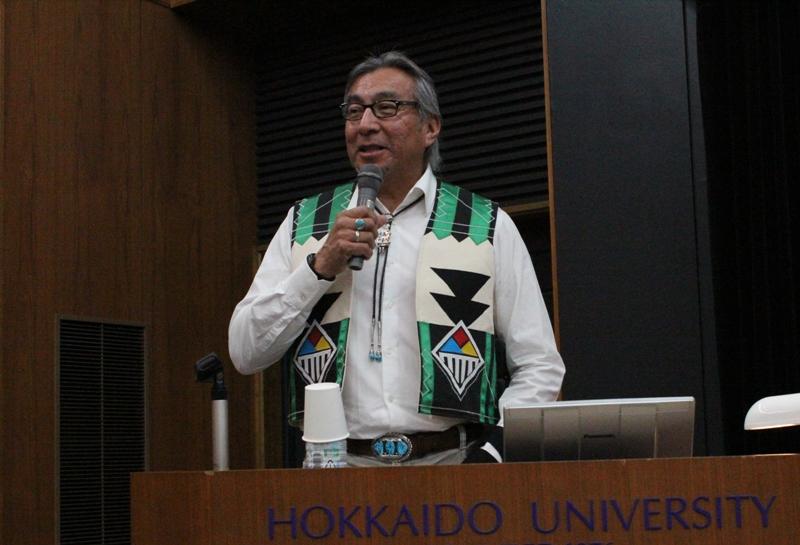 ジム・イノート(ズニ博物館 館長)