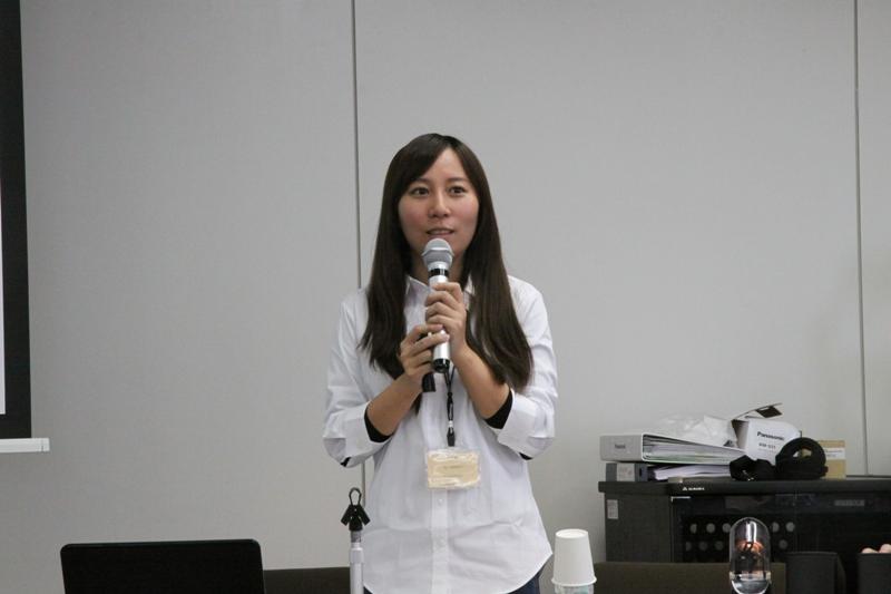 蘇芳儀(国立政治大学地政学系研究生)