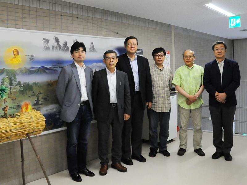 2014.6.20 東京人権啓発企業連絡会所属企業4社の担当者と記念撮影