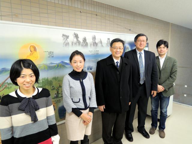 台湾国立政治大学 社会科学学院院長 莊 奕琦 氏